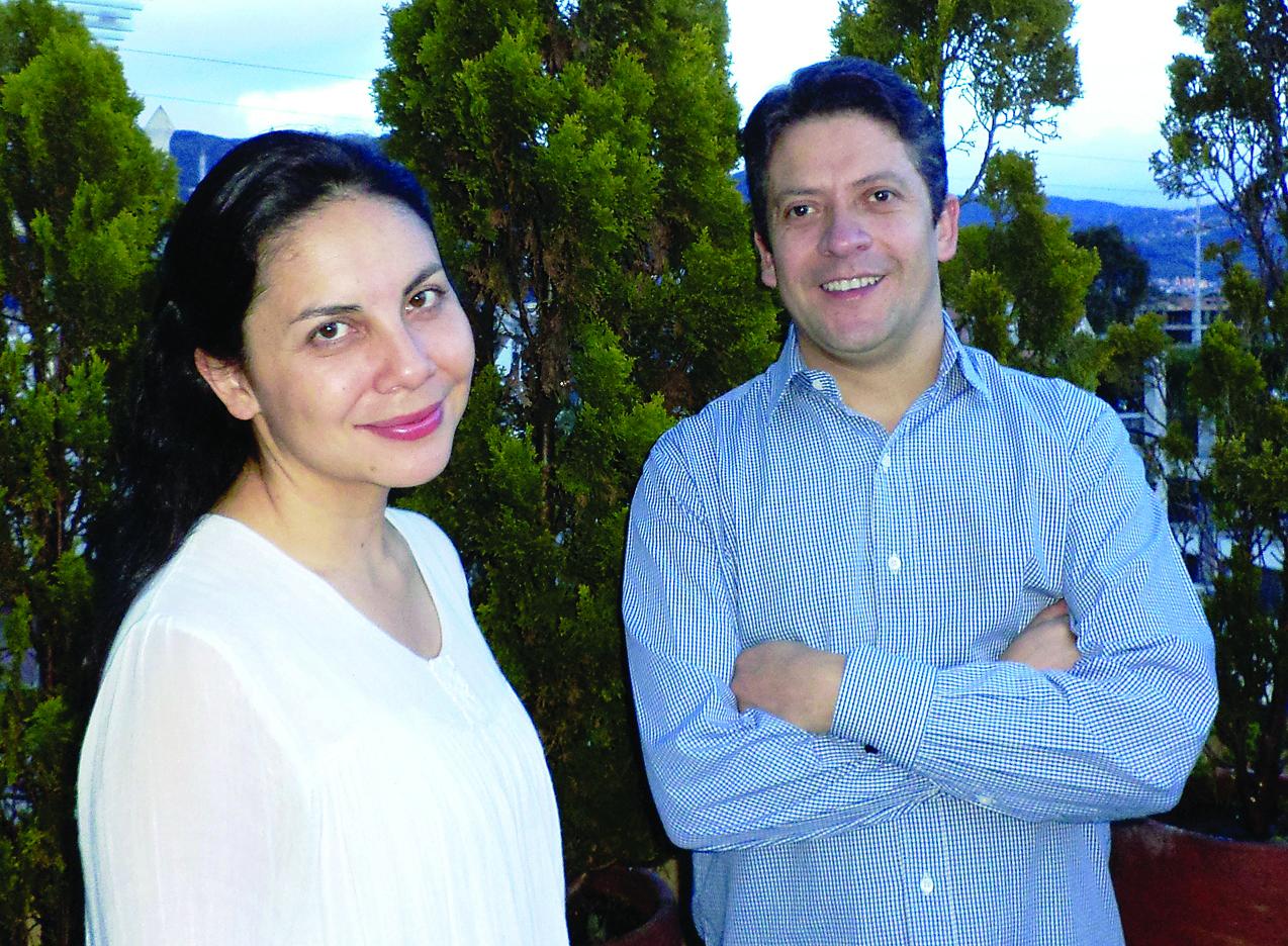 Natalia Avella (Klavier)  und Diego Pinzón (Klarinette).