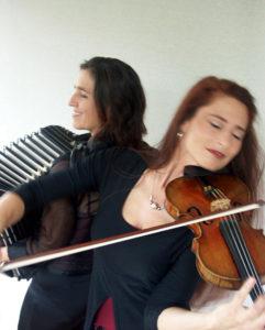Cordula Sauter und Sylvia Oelkrug